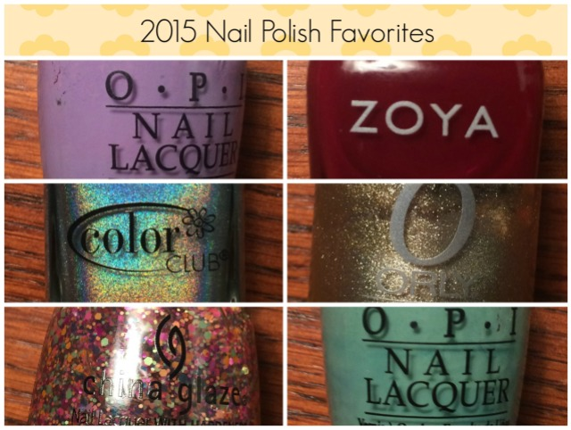 2015 Nail Polish Favorites.