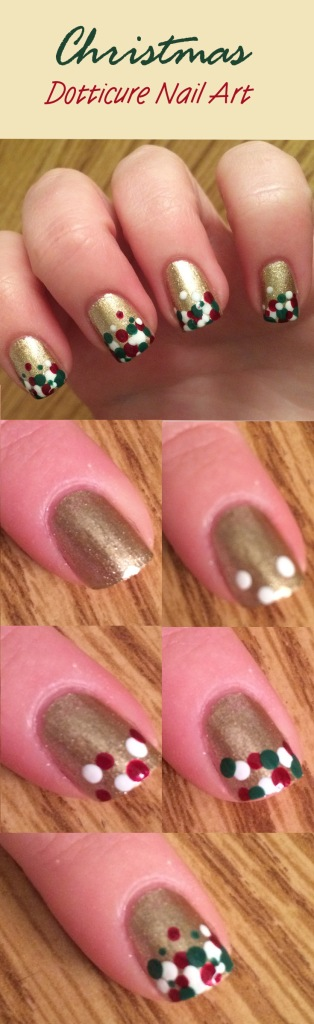 Christmas Dotticure Pin