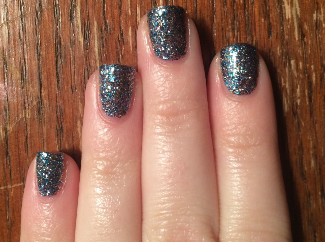 OPI Simmer and Shimmer closeup