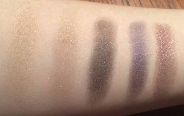 Row 1 of the Urban Decay Vice 4 Palette