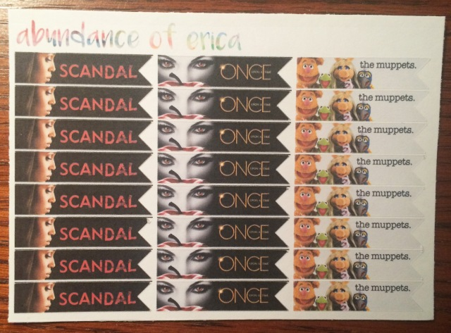 TV Show Stickers