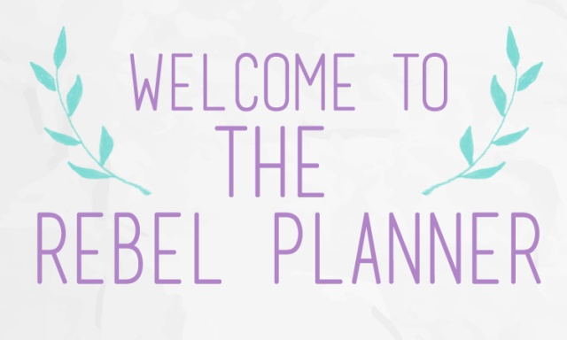 Welcome to the rebel planner