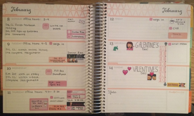 A Week in My EC Feb 8