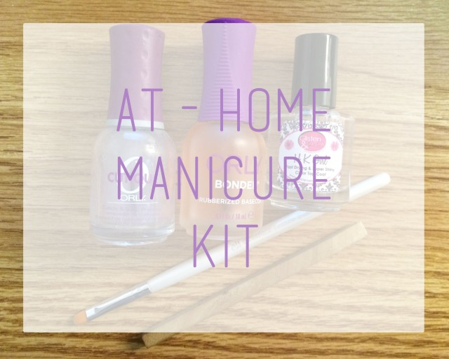 At Home Manicure Kit logo