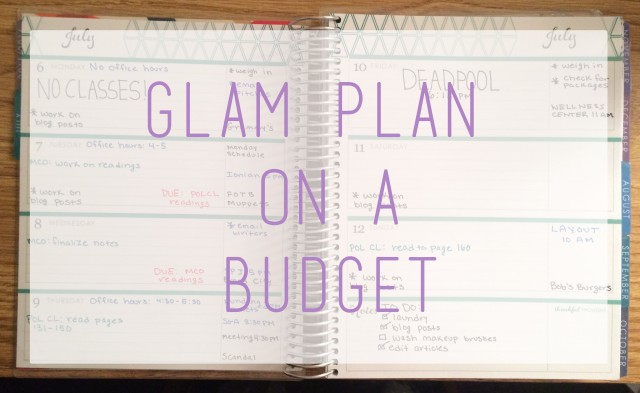 Glam Plan on a Budget logo