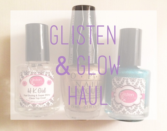 Glisten and Glow Haul logo