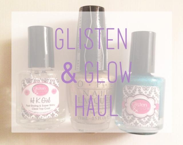 Glisten and Glow Haul logo