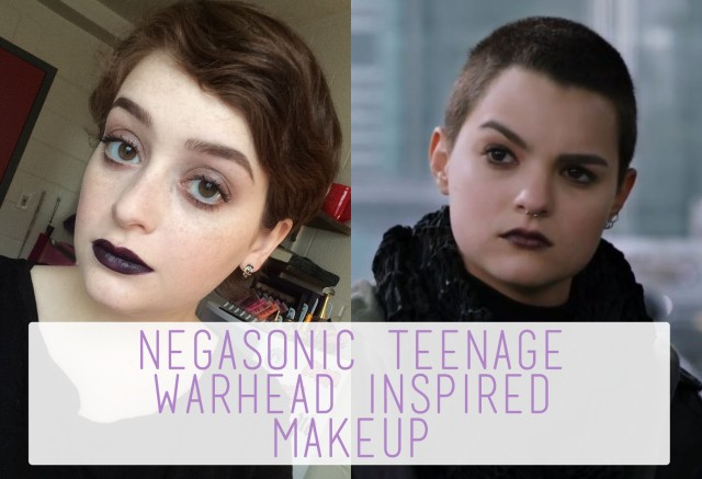 Negasonic Teenage Warhead Inspired Makeup logo