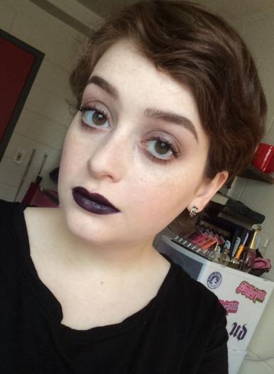 Negasonic Teenage Warhead Inspired Makeup
