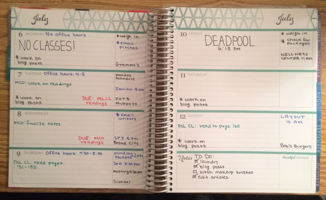 Planner on a Budget Sprea